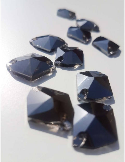 Sew On Stone Oval Crystal 12x24mm