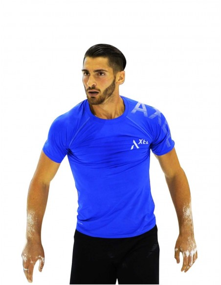 Camiseta Azul Royal Sly-Dry Reflectante - Hombre