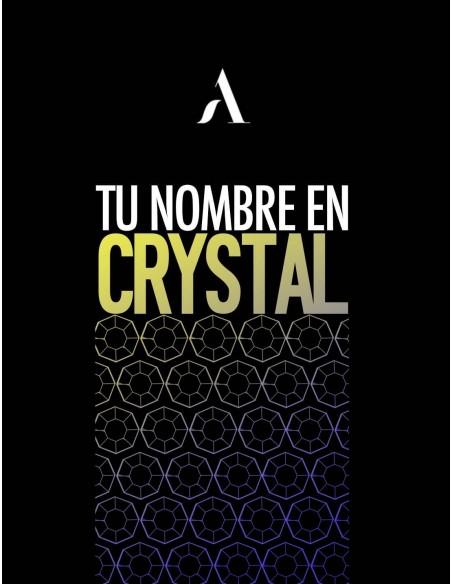 Personaliza Tu Nombre En Crystal