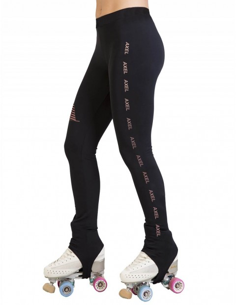 LEGGING TÉRMICO ESTRIBO A NEGRO ROSE GOLD
