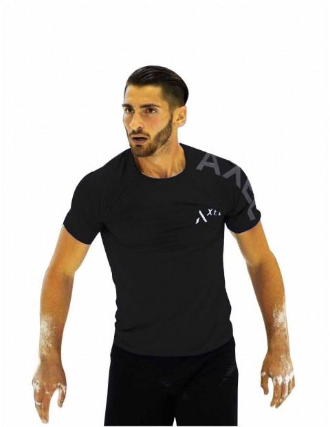 Black Shirt Royal Sly-Dry Reflectante - Men