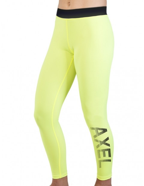 LEGGING STRIPE SLY-DRY LIME BLACK