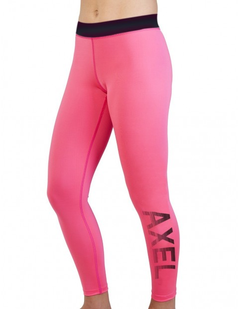 LEGGING STRIPE SLY-DRY FUCHSIA BLACK
